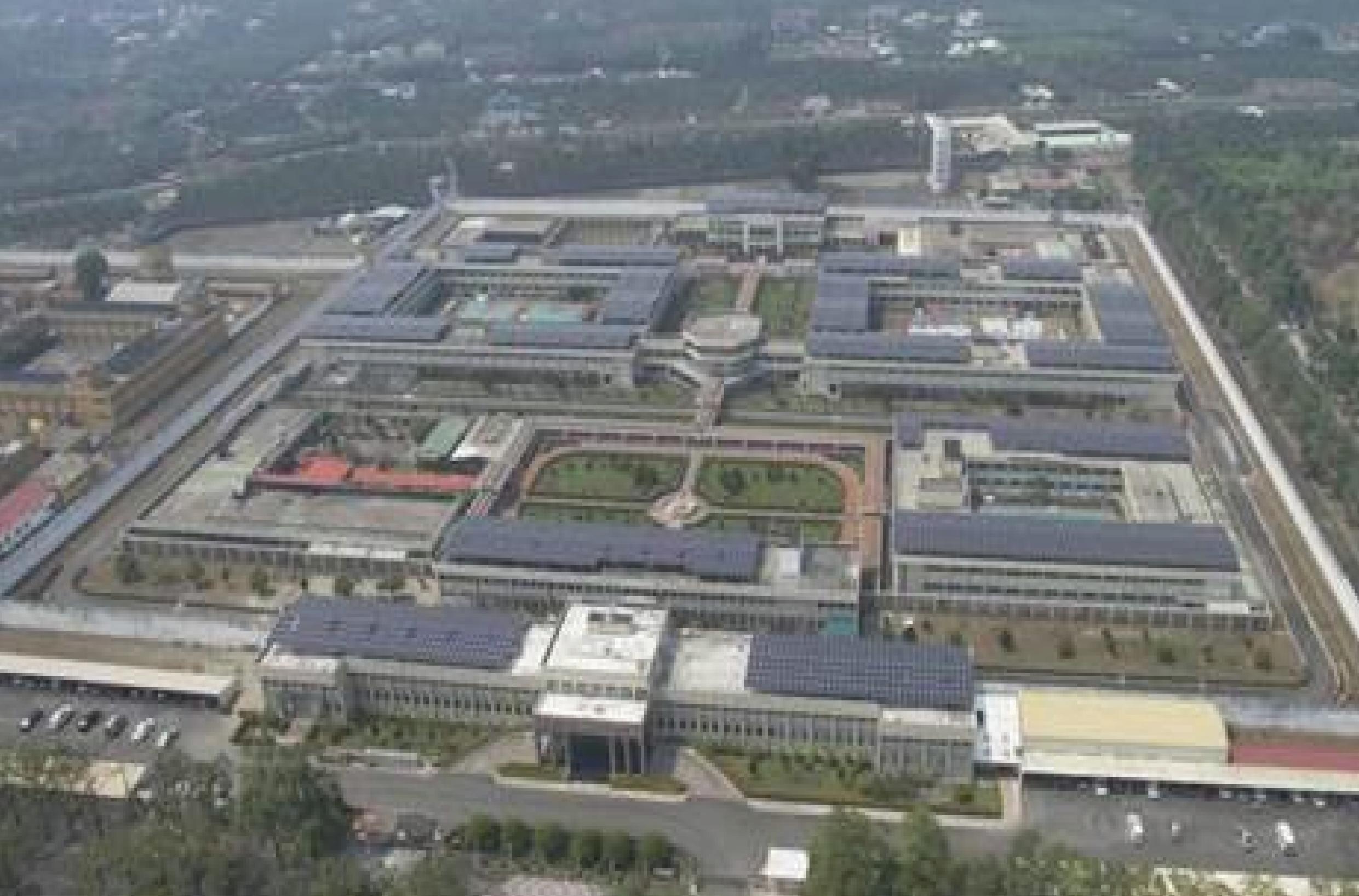 屏東監獄太陽能光電2000KVA系統 配電盤由富強承製
