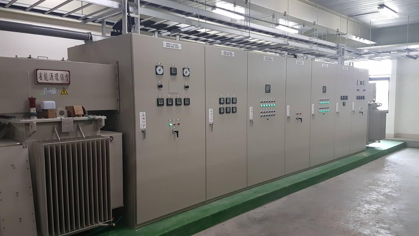 萬國通路股份有限公司電力設備建置